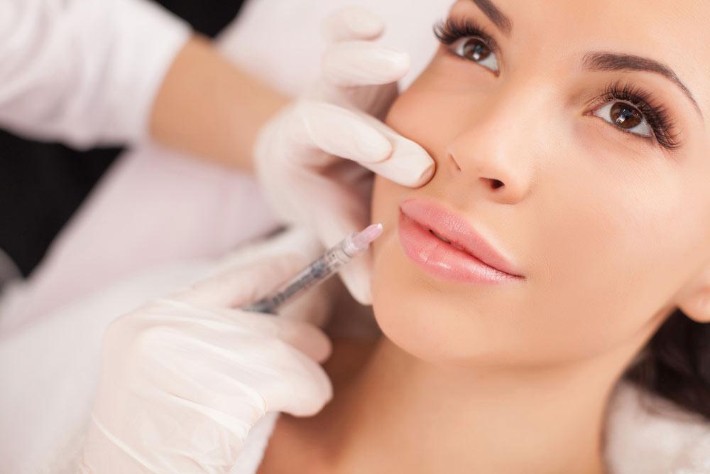 An image of a facial aesthetic, botox procedure